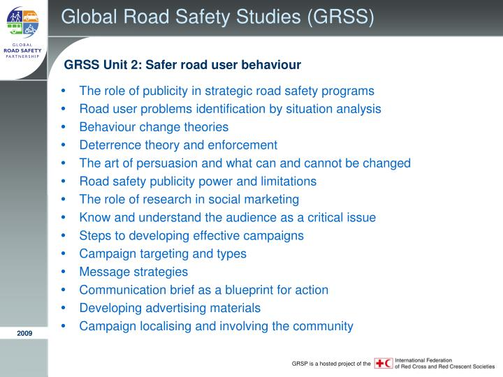 Global Road Safety Studies (GRSS)
