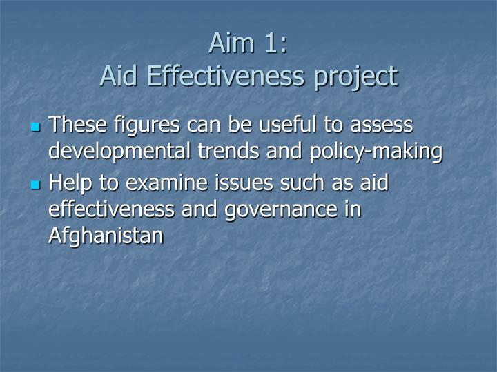 Aim 1: