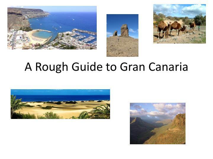 a rough guide to gran canaria n.