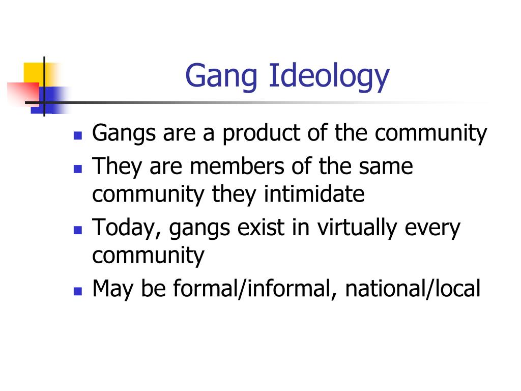 PPT - Identifying and Understanding Street Gangs PowerPoint