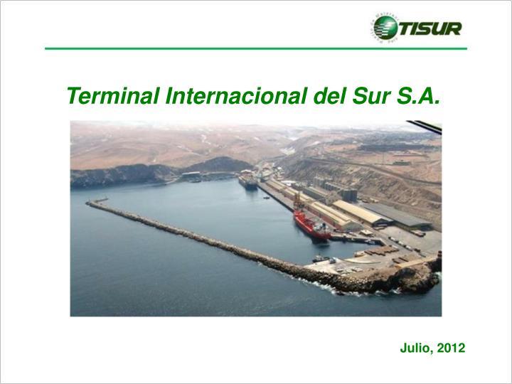 Terminal Internacional del