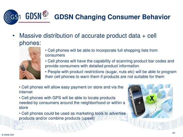 GDSN Changing Consumer Behavior