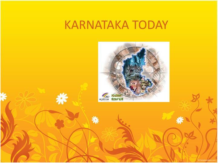 Karnataka today
