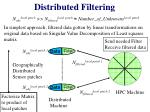 distributed filtering