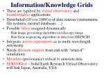 information knowledge grids