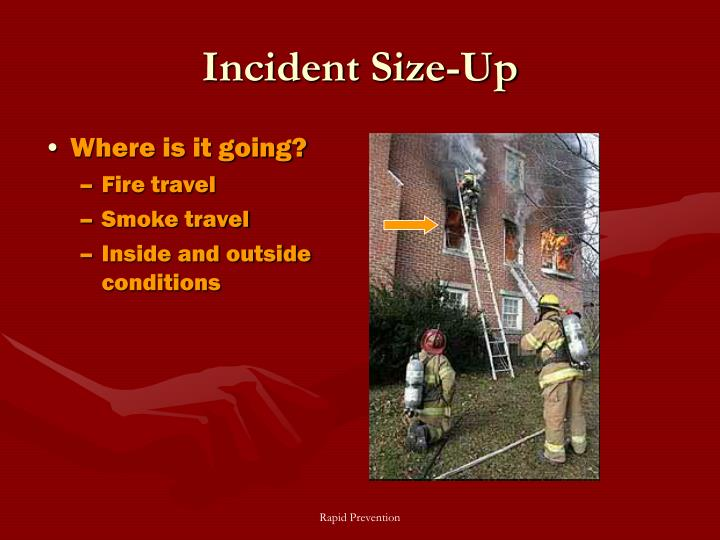 Incident Size-Up