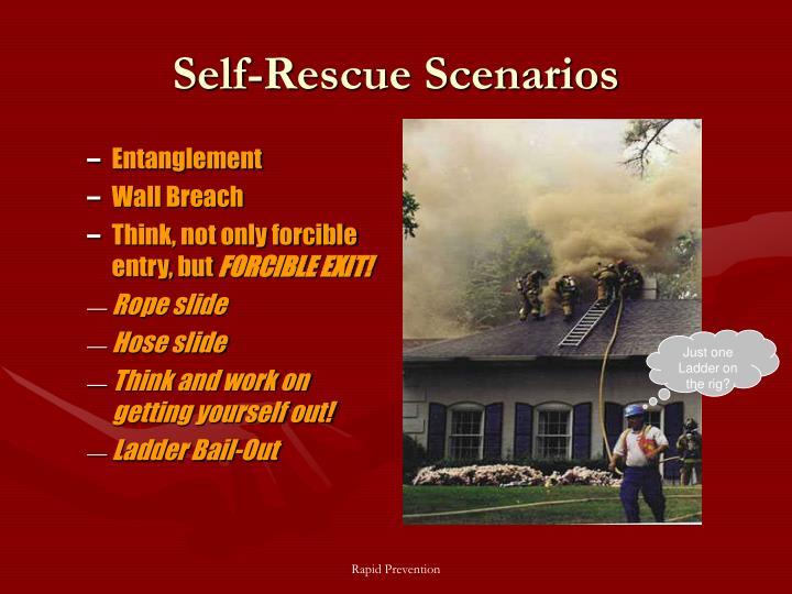 Self-Rescue Scenarios