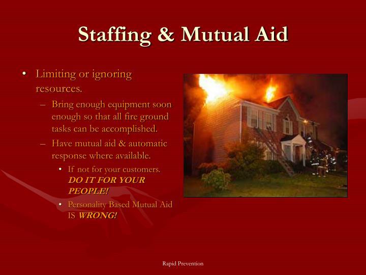 Staffing & Mutual Aid