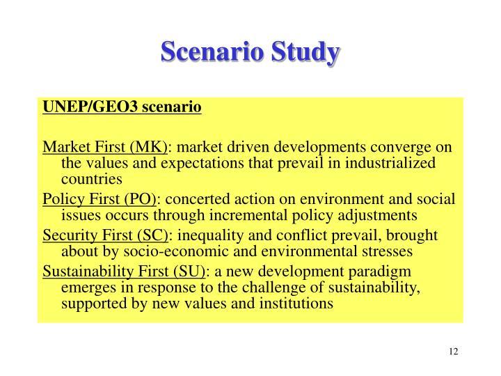 Scenario Study