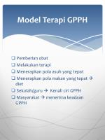 model terapi gpph