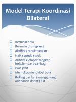 model terapi koordinasi bilateral