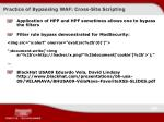 practice of bypassing waf cross site scripting1