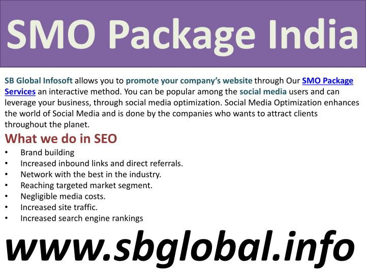 Smo package india1