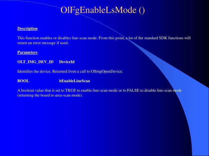 OlFgEnableLsMode ()