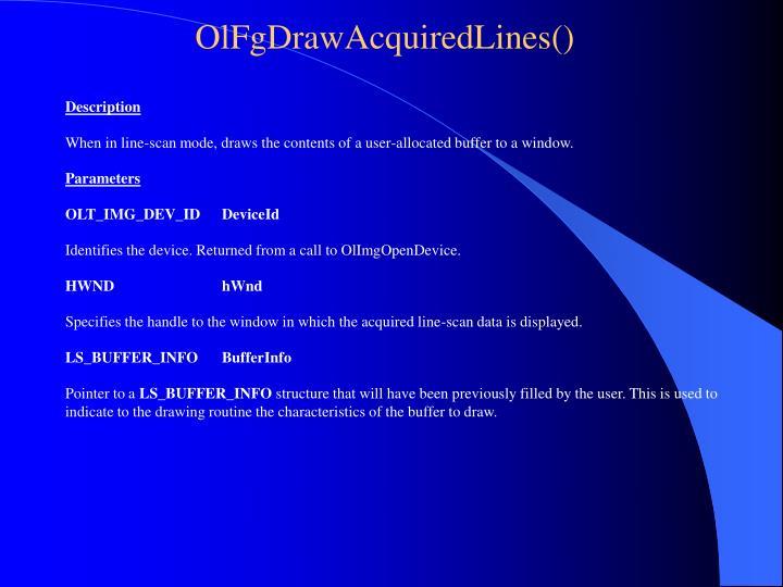 OlFgDrawAcquiredLines()