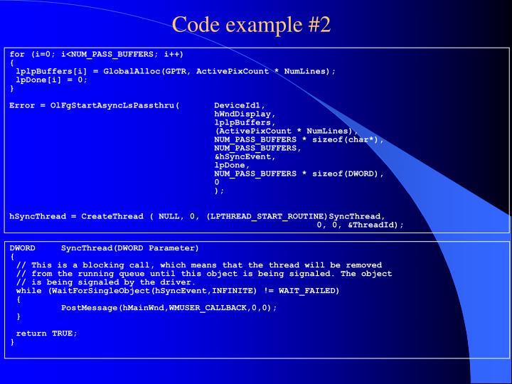 Code example #2