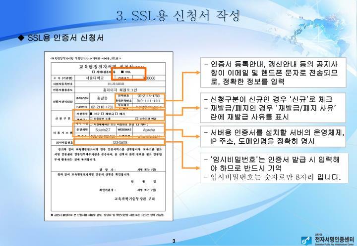 3. SSL