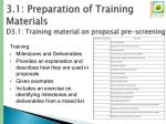 3 1 preparation of training materials d3 1 training material on proposal pre screening5