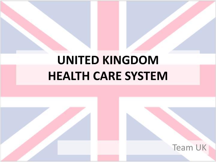 united kingdom health care system n.