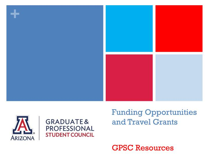 funding opportunities and travel grants n.