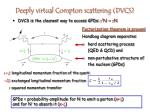 deeply virtual compton scattering dvcs
