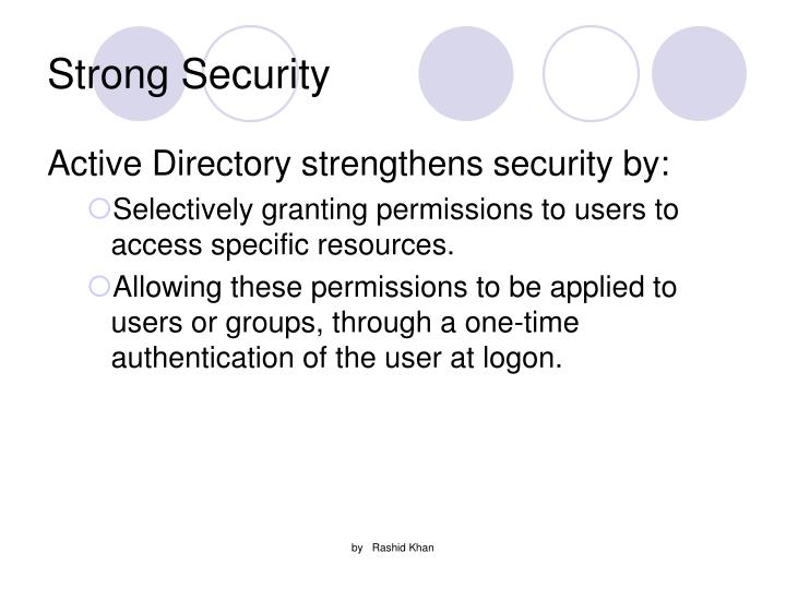 Strong Security