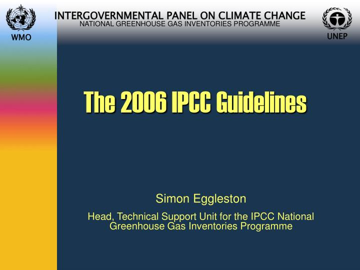 the 2006 ipcc guidelines n.