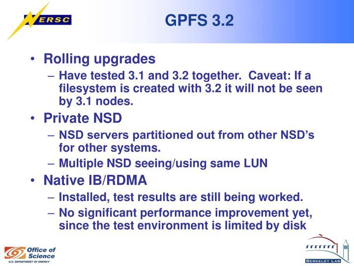 GPFS 3.2