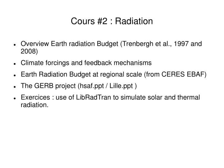 cours 2 radiation n.