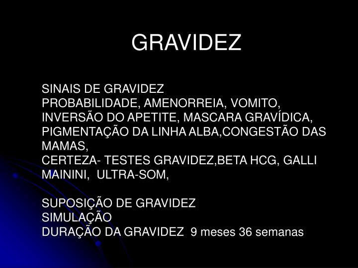 GRAVIDEZ