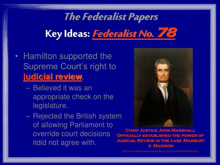 the federalist no 78