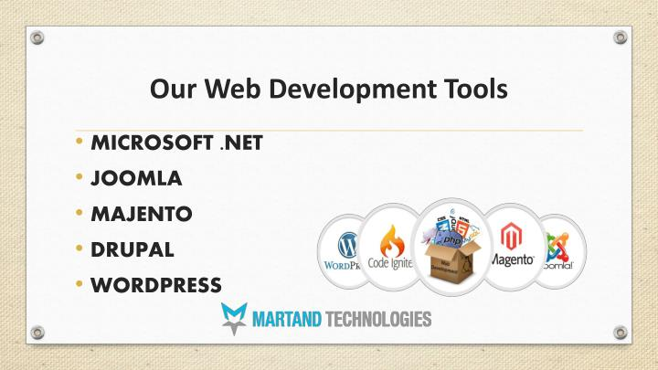Our Web Development Tools