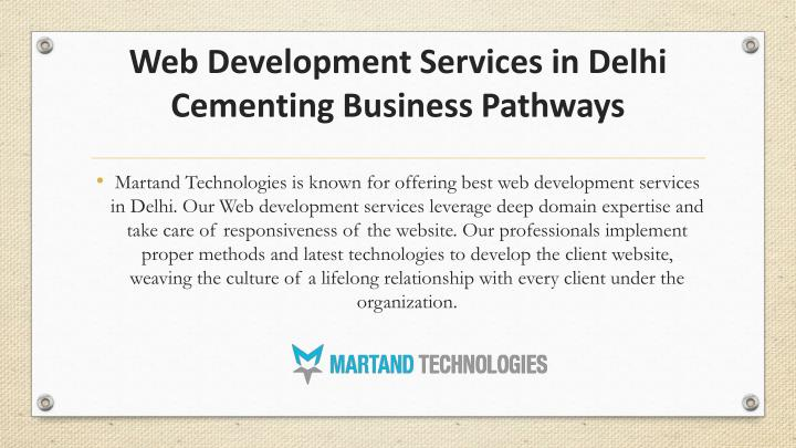 Web d evelopment s ervices in delhi cementing b usiness p athways