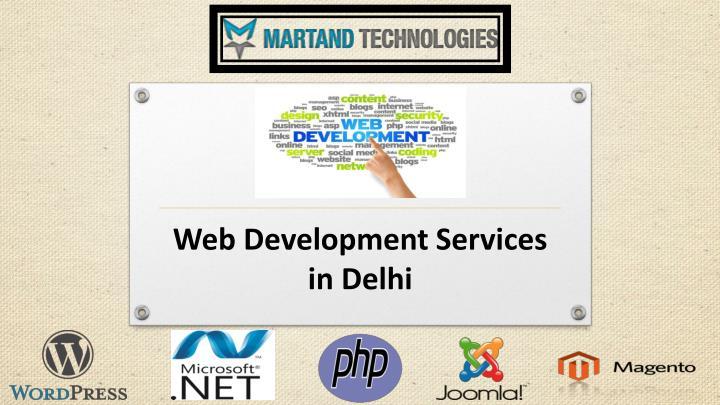 Web d evelopment s ervices in delhi