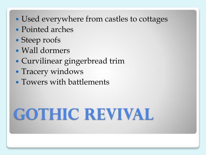 gothic revival n.