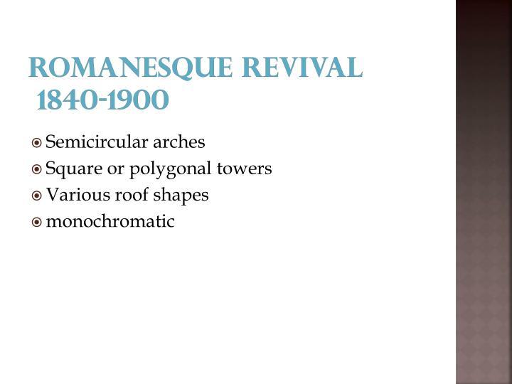 Romanesque revival