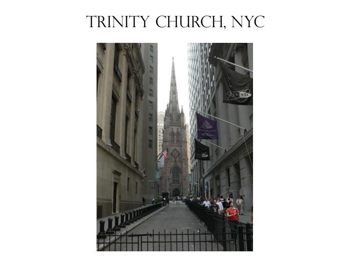 Trinity church nyc
