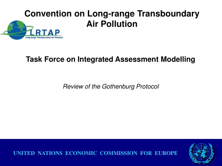 convention on long range transboundary air pollution n.