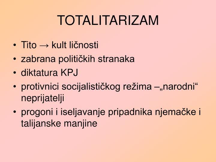TOTALITARIZAM