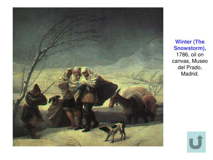 Winter (The Snowstorm),