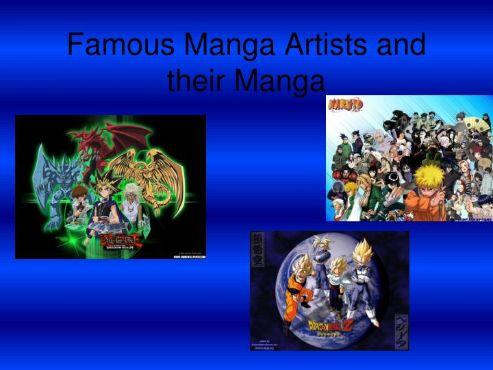 famous manga artists and their manga n.