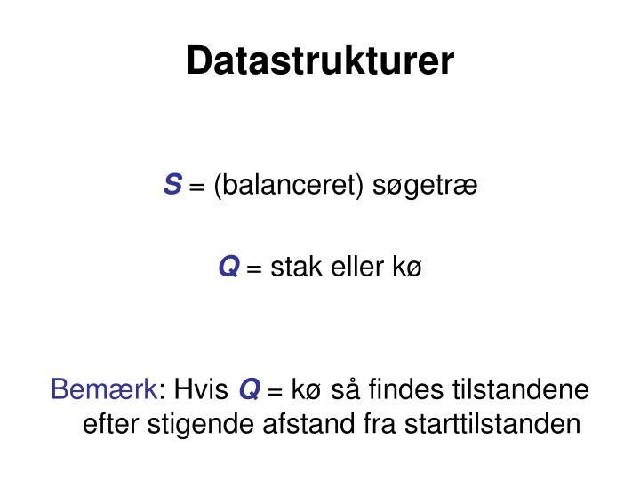 Datastrukturer