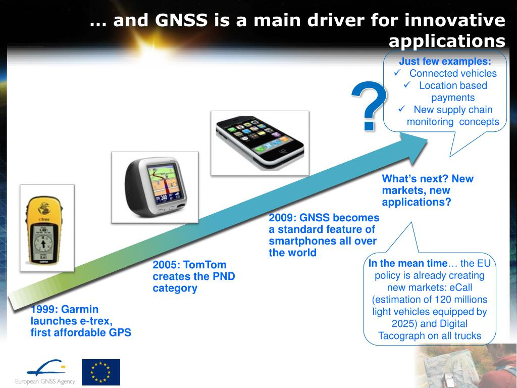 PPT - Introduction to GNSS opportunities in different Market