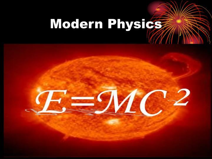modern physics n.