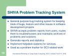 shiva problem tracking system