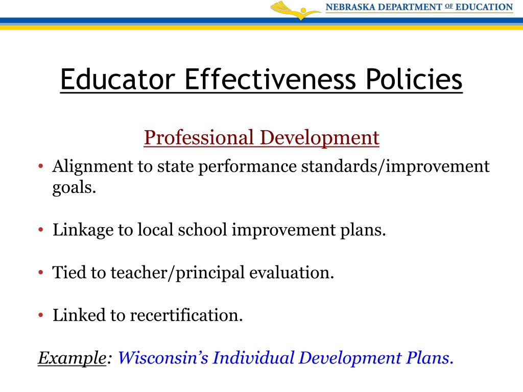 PPT - Teacher and Principal Standards for Educator