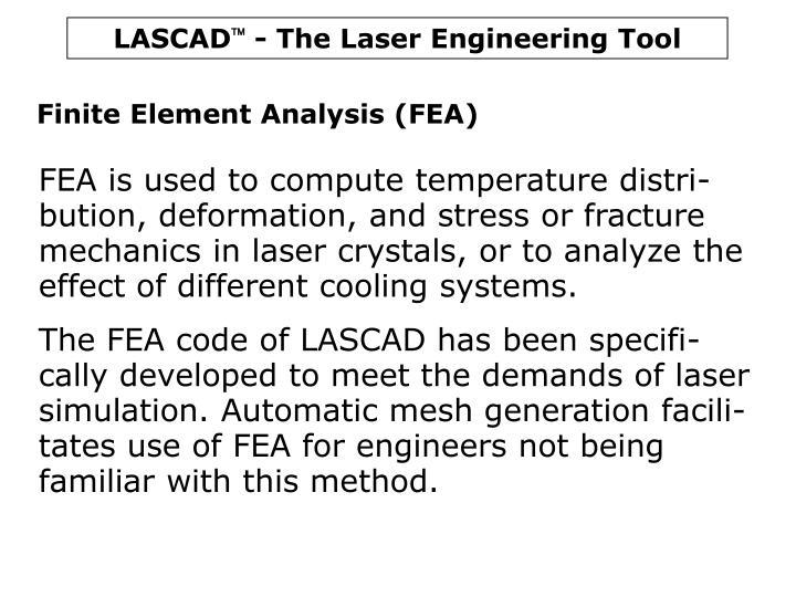 Finite Element Analysis (FEA)