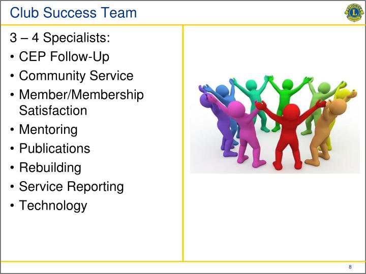 Club Success Team