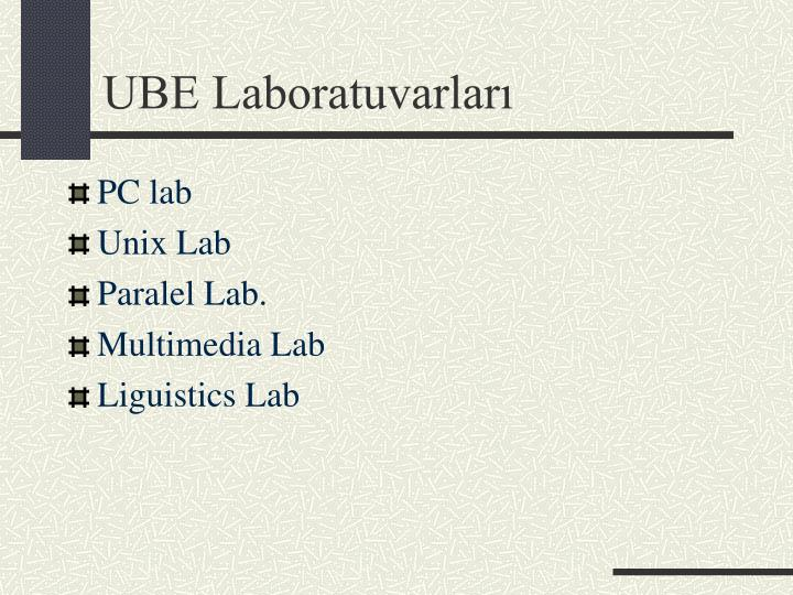 UBE Laboratuvarları