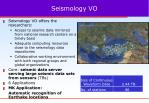 seismology vo
